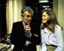 Peter Finch & Faye Dunaway in Network Poster and Photo
