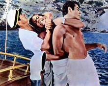 Mark Stevens & Robert Strauss in September Storm Poster and Photo