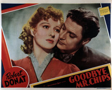 Greer Garson & Robert Donat in Goodbye Mr. Chips Poster and Photo