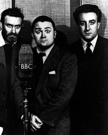 Spike Milligan & Harry Secombe in The Goon Show Poster and Photo