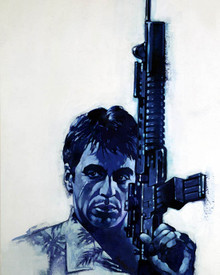 Artwork in Scarface Poster and Photo