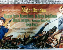 Poster of Major Dundee Poster and Photo