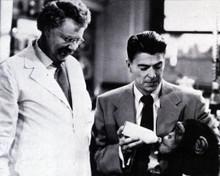 Ronald Reagan & Walter Slezak in Bedtime for Bonzo Poster and Photo