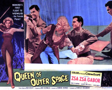 Zsa Zsa Gabor & Eric Fleming in Queen of Outer Space Poster and Photo