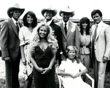 The Ewing Family & Steve Kanaly in Dallas (1978-1991) Poster and Photo