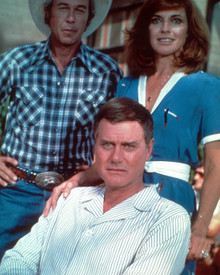 Steve Kanaly & Larry Hagman in Dallas (1978-1991) Poster and Photo