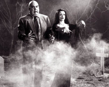 George Steele & Lisa Marie in Ed Wood Poster and Photo