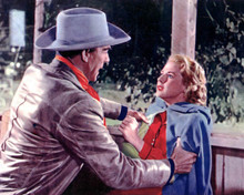 Randolph Scott & Mala Powers in Rage at Dawn Poster and Photo