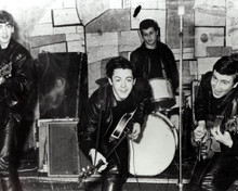 Pete Best & George Harrison Poster and Photo