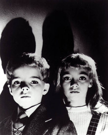 Martin Stephens & June Cowell in Village of the Damned (1960) Poster and Photo