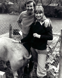 Richard Briers & Felicity Kendal Photograph and Poster - 1026934 Poster and Photo