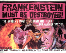 Poster of Frankenstein Must be Destroyed Poster and Photo