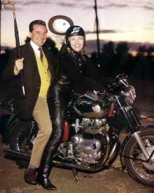 Patrick MacNee & Honor Blackman in The Avengers (Second Season - 1962-63) Poster and Photo