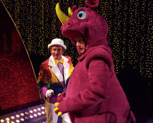 Edward Norton & Robin Williams in Death To Smoochy Poster and Photo