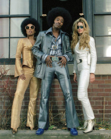 Eddie Griffin & Aunjanue Lawan Ellis in Undercover Brother Poster and Photo