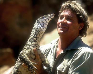 Steve Irwin in The Crocodile Hunter: Collision Course Poster and Photo