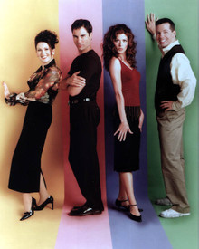 Megan Mullally & Eric McCormack in Will and Grace Poster and Photo