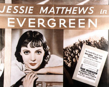Poster & Jessie Matthew in Evergreen Poster and Photo