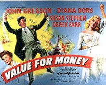 Poster & John Gregson in Value for Money Poster and Photo