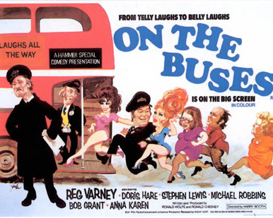 Poster & Reg Varney in On The Buses Poster and Photo