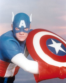 Arthur Pierce in Captain America Poster and Photo