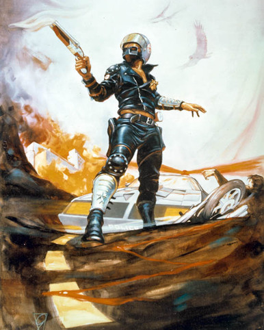 Artwork in Mad Max Poster and Photo