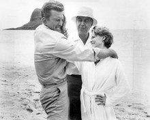 Otto Preminger & Kirk Douglas in In Harm's Way Poster and Photo