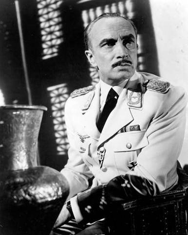 Conrad Veidt in Casablanca Poster and Photo