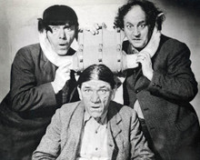 The Three Stooges & Moe Howard in Gold Raiders aka The Stooges Go West Poster and Photo