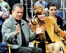 William Shatner & Rene Russo in Showtime (2002) Poster and Photo