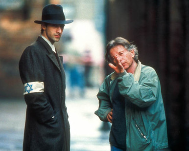 Roman Polanski & Adrien Brody in The Pianist (2002), aka Der Pianist Poster and Photo