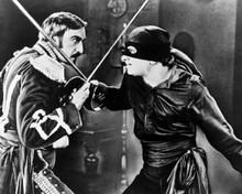 Douglas Fairbanks & Robert McKim in The Mark of Zorro (1920) Poster and Photo
