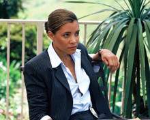 Michael Michele in Dark Blue Poster and Photo