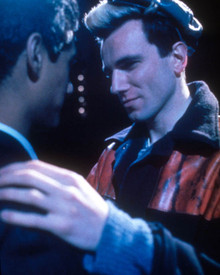 Gordon Warnecke & Daniel Day-Lewis in My Beautiful Laundrette Poster and Photo