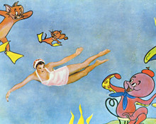 Tom and Jerry & Esther Williams in Dangerous When Wet Poster and Photo