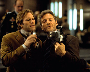 Tcheky Karyo & Aaron Eckhart in The Core Poster and Photo