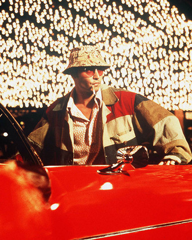 Johnny Depp in Fear and Loathing in Las Vegas Poster and Photo