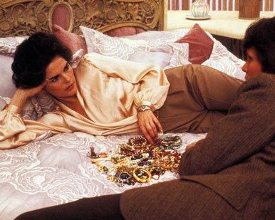 Ali MacGraw & Peter Weller in Just Tell Me What You Want Poster and Photo