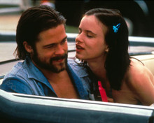 Brad Pitt & Juliette Lewis in Kalifornia Poster and Photo
