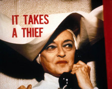 Bette Davis in It Takes a Thief Poster and Photo