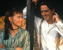 Hugh Grant & Tara Fitzgerald in The Englishman Who Went Up a Hill But Came Down a Mountain Poster and Photo