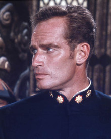 Charlton Heston in 55 Days at Peking Poster and Photo