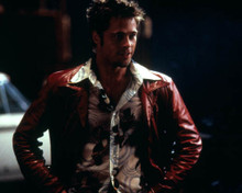Brad Pitt in Fight Club Poster and Photo