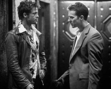 Brad Pitt & Edward Norton in Fight Club Poster and Photo