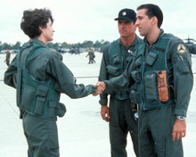 Nicolas Cage & Sean Young in Fire Birds a.k.a. Wings of the Apache Poster and Photo