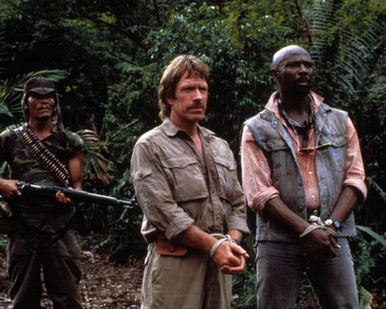 Chuck Norris & Louis Gossett Jr. in Firewalker Poster and Photo