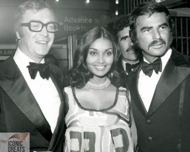 Burt Reynolds & Michael Caine Poster and Photo
