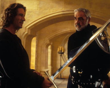 Richard Gere & Sean Connery in First Knight Poster and Photo