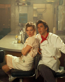 Michelle Pfeiffer & Al Pacino in Frankie and Johnny (1991) Poster and Photo