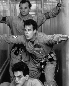 Bill Murray & Dan Aykroyd in Ghostbusters Poster and Photo
